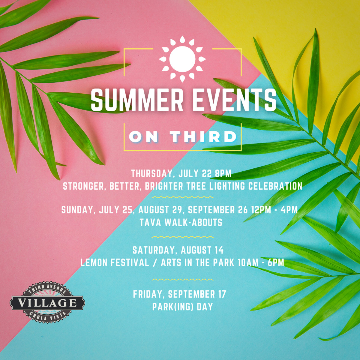 Summer-Stroll-events